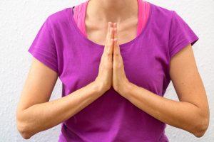 Yogalektionen in Baden